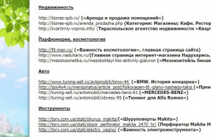 Скриншот - пример портфолио копирайтера