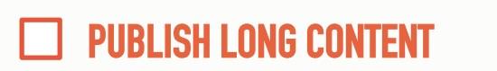 198 Важной рекомендацией является публиковать длинные статьи. Длина 5000 знаков и больше - желательна.