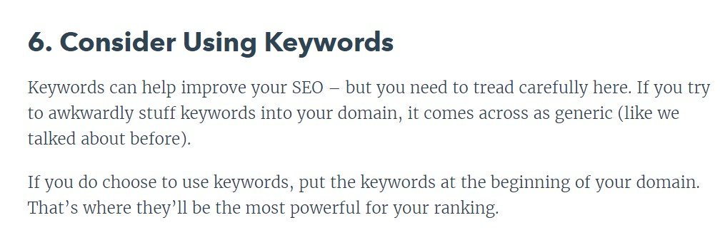 147 Одним из пунктов является наличие ключа в домене. Как утверждает специалист, это поможет продвигаться быстрее.