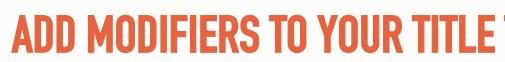 196 Тайтл можно разбавить с помощью дополнительных слов в SEO - 2017, лучший, обзор, способ и т.д.