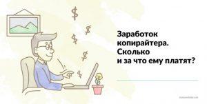 Заработок на статьях (копирайтинг)