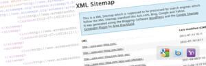 Карты xml и html должны меняться при изменении сайта.
