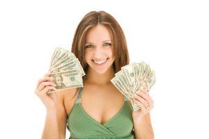 Деньги девушки