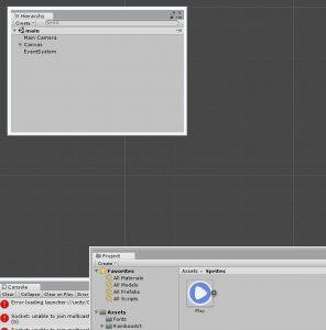 Добавить изображения в папку Sprites, добавленную в папке Assets нами.
