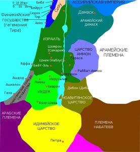 Иерусалим: карта